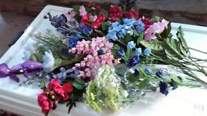 "SILK FLOWERS      1 st Lot         ""  PRICE REDUCED ' Belleville Belleville Area image 2"