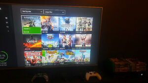 Xbox one 4 controllers 18 games + headset [negotiable]
