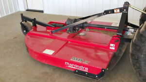 2016 Mahindra 6 ft MD Rough Cut Mower, 30 To 40 Hours Of Use
