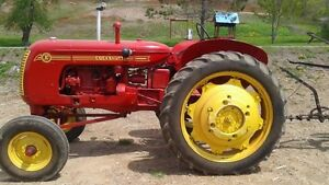 1947 Cockshutt 30 Tractor with plough