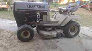 Craftsman riding tractor