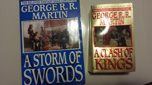 Game of Thrones books 2 and 3 PB George R.R. Martin
