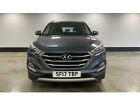 2017 Hyundai Tucson 1.7 CRDi Blue Drive SE 5dr 2WD FourByFour diesel Manual