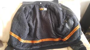 VINTAGE manteau cuir HARLEY DAVIDSON