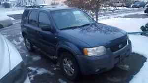 2001 Ford Escape XLT V6 4WD