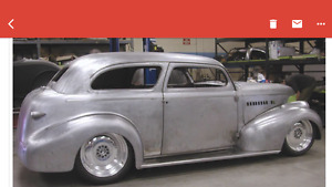 1939 Chevy two door sedan