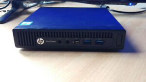 MINI HP PRO DESK, I5 6500t,8GB RAM, SSD + TV 32 Pouces