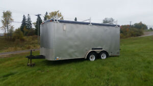 2007 Cargo Express enclosed trailer