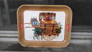 Real and authentic 1957 Coca Cola tray