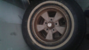 5x120 66 chevy van wheels and radial tires