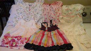 Lot de vêtements à vendre fille 3 4 et 5 ans Saint-Hyacinthe