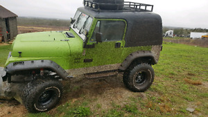 1995 jeep wrangler 2.5l 5 speed manual