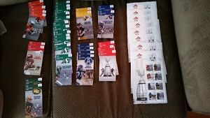 100th . Anniversary Grey Cup Stamps   Mint.