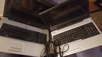 2 laptops for repair or parts HP G71 ($80 ) Toshiba L500 ( $40 )