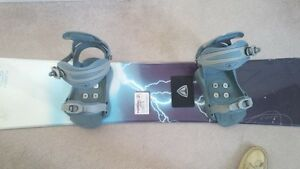 Firefly Snowboard/Boots/Binding Cambridge Kitchener Area image 3