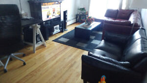 3 1/2 in st-Leonard for temporary rent