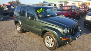JEEP LIBERTY 4X4 *** FULLY LOADED *** CERTIFIED $4995