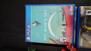 ps4 game.  No Mans Sky
