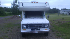 1978 Ford RV 24 foot $3000 obo