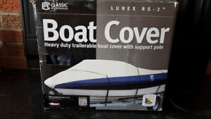 Deluxe Boat Cover for 20-22ft Boat