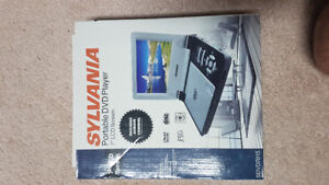 """Portable DVD Player 7"""" LCD Screen in Package!"""