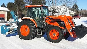 Espanola  snow removal and plowing