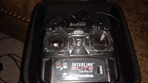 Realflight  flight sim controller with case