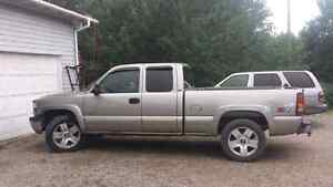 2002 silverado 4x4. Trade for F7 or skidoo rev
