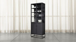 Wanted: Crate and Barrel Casement Black Tall Cabinet