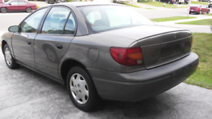 2000 Saturn S Safetied and E-Tested