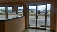 IN QUESNEL  1600 sq.ft COMMERICAL SPACE~~ HIGHWAY FRONTAGE