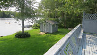 LakeFront Bungalow 3Br 2Bth Finished Bsmt Avail Now Garage