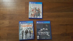 PS4 AC Chronicles, Division, Thief