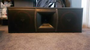 Cerwin vega center speaker
