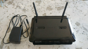 Belkin wireless N router and switch
