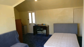 A very large double bedroom fully furnished inclusive of all bills