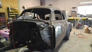 1950 chev 2 dr project