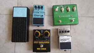 Pedals for Sale(for Trade)