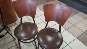 Restaurant chairs and tables ..very well built