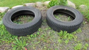 Pair of Wrangler P275 60 R20  tires for sale cheap