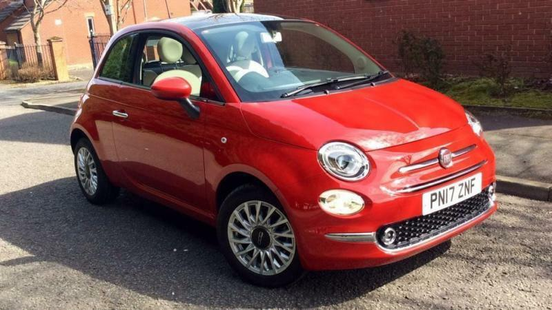 2017 fiat 500 1 2 lounge facelift model with manual petrol hatchback in blackburn lancashire. Black Bedroom Furniture Sets. Home Design Ideas