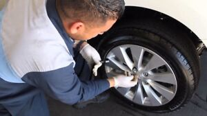 Tire Changes, Tire Swaps, Repairs and Patching