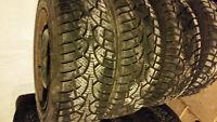 Pneu d'hiver / Winter Tire P195/65R15 5x100mm bolt rim jantes