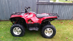 2009 yamaha Grizzly 550 special edition