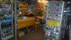 NEW FISHING TACKLE FOR SALE = A BASEMENT FULL OF TACKLE
