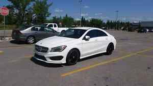 Mercedes-Benz CLA250 (AMG package)