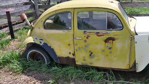 1959 vw Baja bug