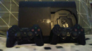 PS3 Gaming System & 2 Wireless Controller's