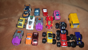 For sale, small cars toys collection, all for 7 dollars.