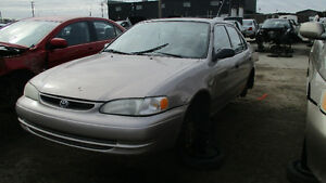 Toyota corolla 1999 - Dispo pour pièce chez Kenny Laval!